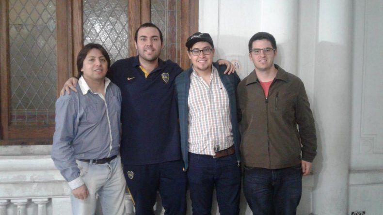 Andrés Aguilar; Kevin Paveto (ganador); Gabriel Ulloa y Eugenio Crespo de Trelew.