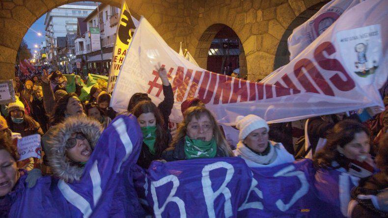 Mujeres se movilizaron en todo el país bajo la consigna Ni una menos