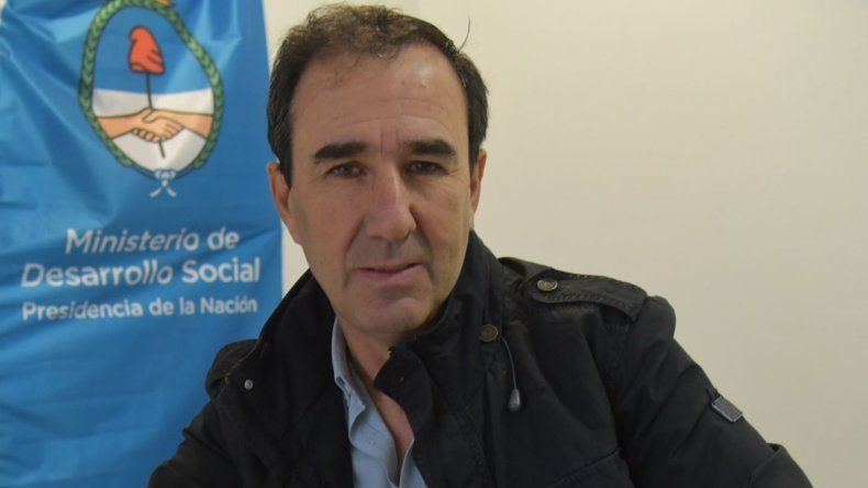 El articulador del Ministerio de Desarrollo Social de la Nación