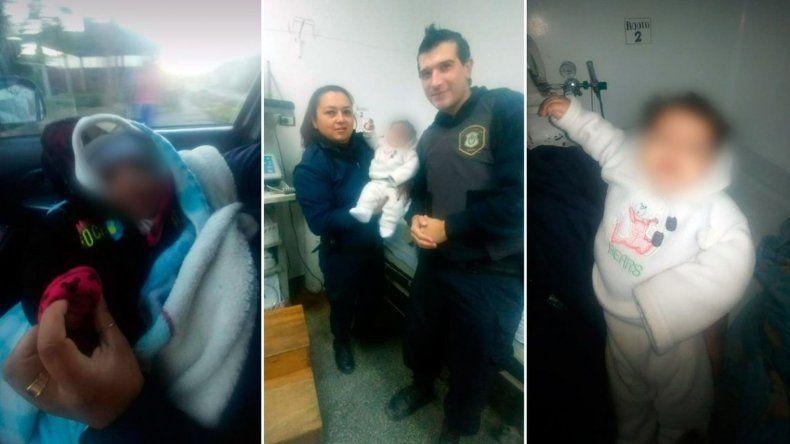 Rescataron a un bebé de 4 meses que fue abandonado en un arroyo