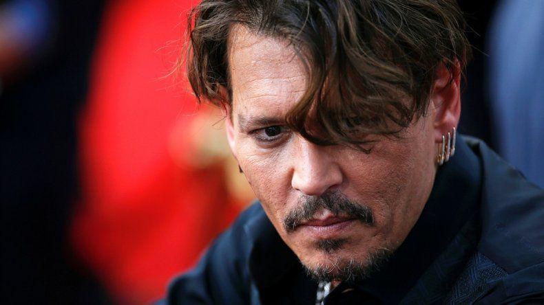 ¿Qué le pasó?: la preocupante imagen de Johnny Depp