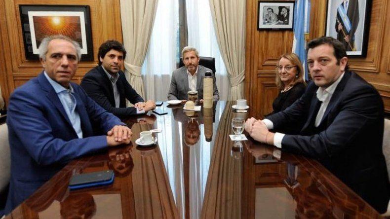 Alicia Kirchner se reunió con Rogelio Frigerio