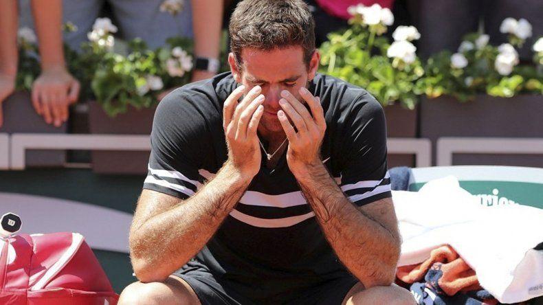 El tandilense no pudo contener las lágrimas luego del triunfo de ayer.