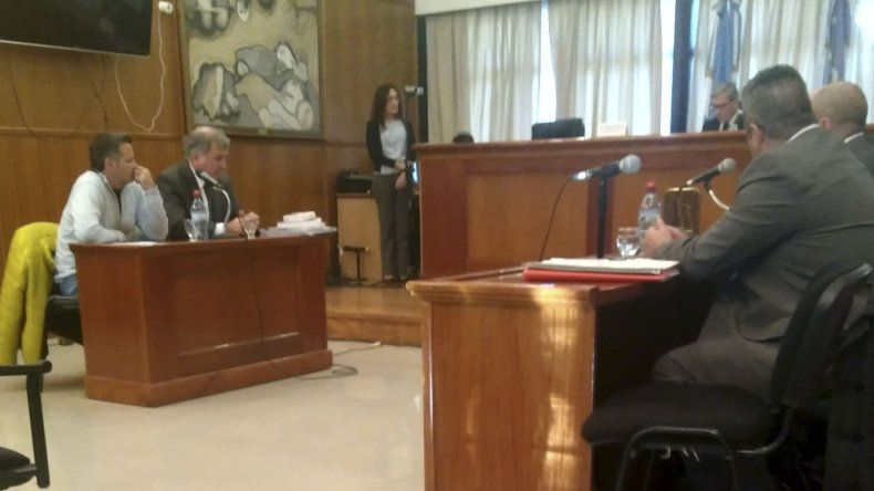 La audiencia de control de detención donde se le impuso la prisión preventiva a Pablo Bastida.
