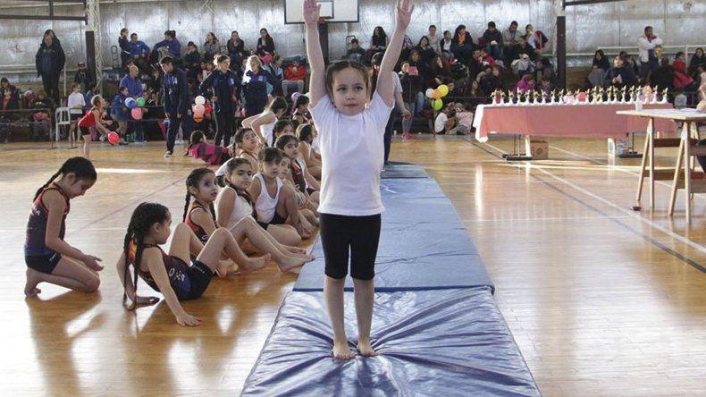 Participaron más de 200 gimnastas de 4 a 13 años.
