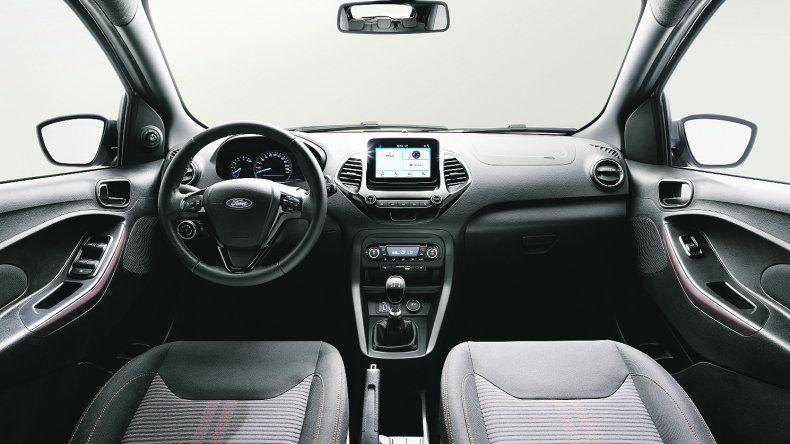 Ford Ka Freestyle: Se develó el interior del nuevo aventurero