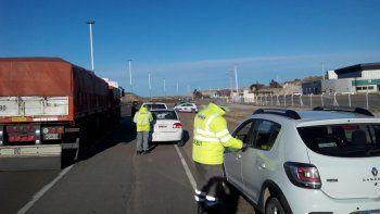 Controlaron 124 vehículos sobre la ruta en kilómetro 9