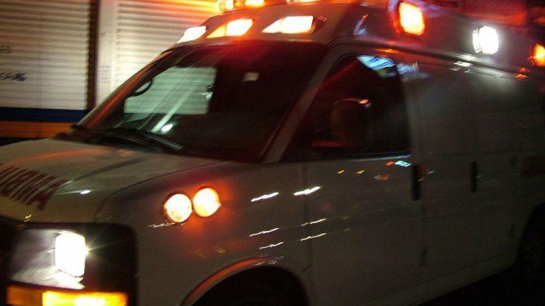 Dos personas heridas en un choque frontal sobre la ruta 26