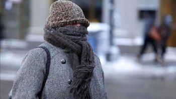continua el frio: heladas y sensacion termica bajo cero