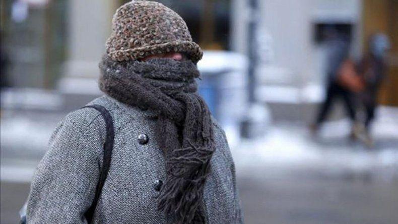 Comodoro amaneció con sensación térmica bajo cero