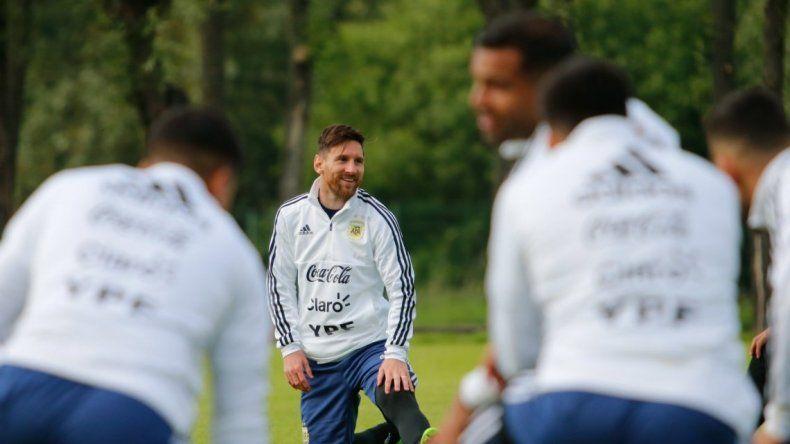 La Selección Argentina entrena a puertas abiertas