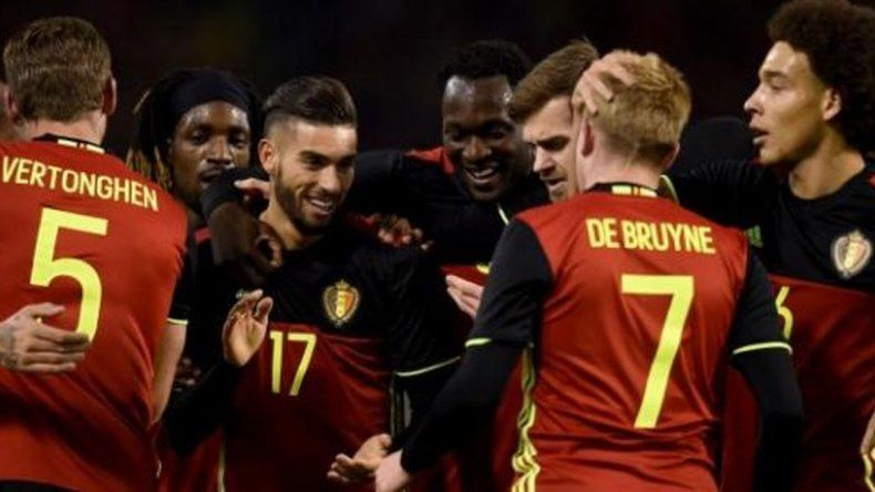 Bélgica juega con Costa Rica el último amistoso antes de su debut en el Mundial
