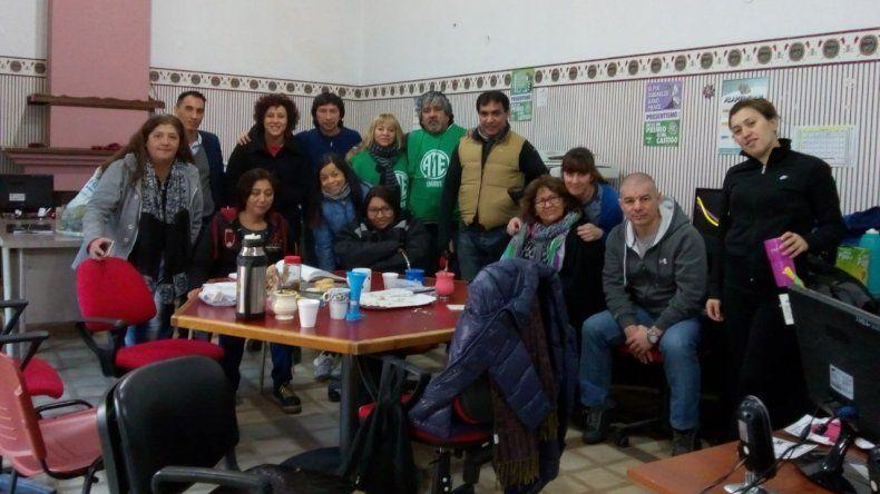 Foto: Vía Whatsapp a El Patagónico