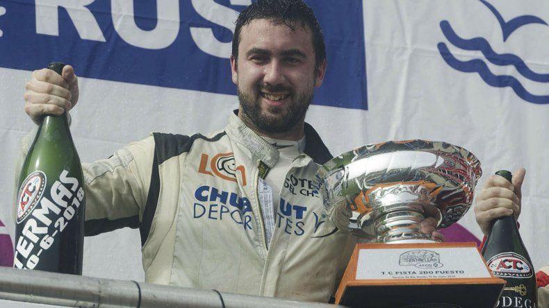 Gustavo Micheloud ocupó el segundo puesto en Termas de Río Hondo.