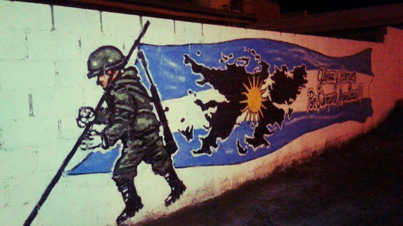 En el barrio Abel Amaya se rinde homenaje a los Héroes de Malvinas