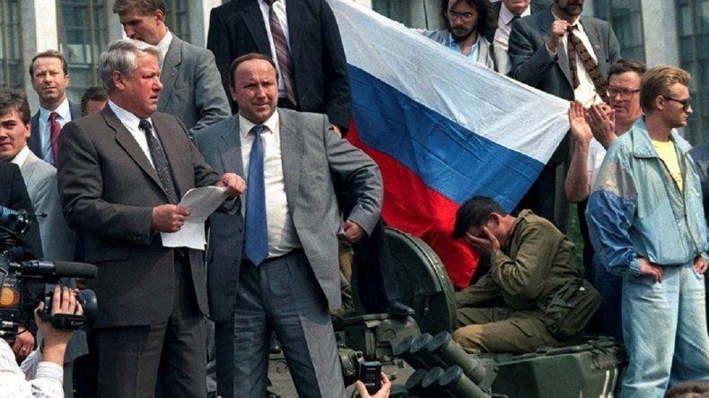 Rusia se paraliza para celebrar su independencia de la URSS