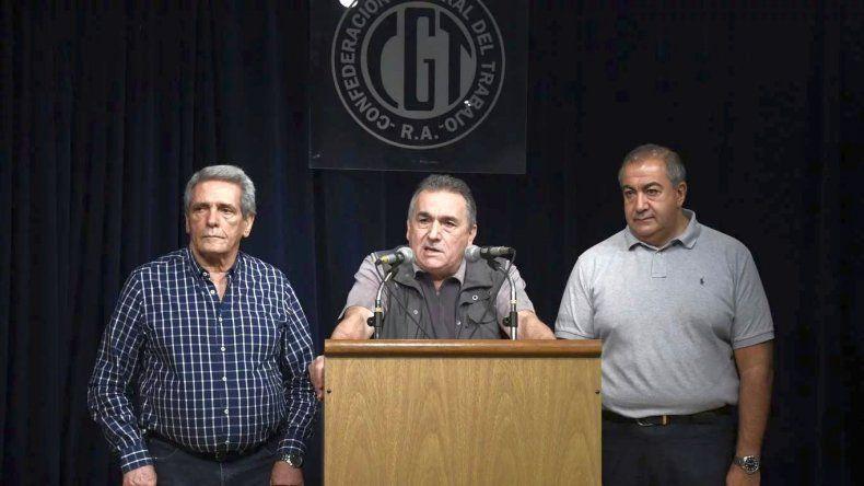 Se suspendió la reunión entre el Gobierno y la CGT