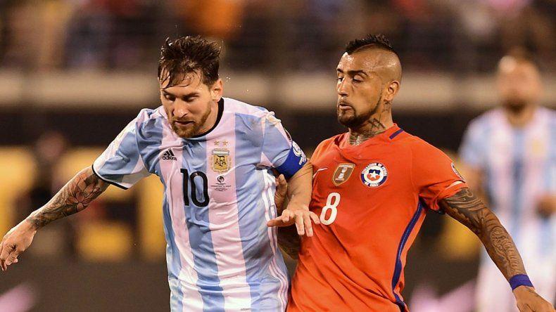 Arturo Vidal provocó a los jugadores del seleccionado argentino