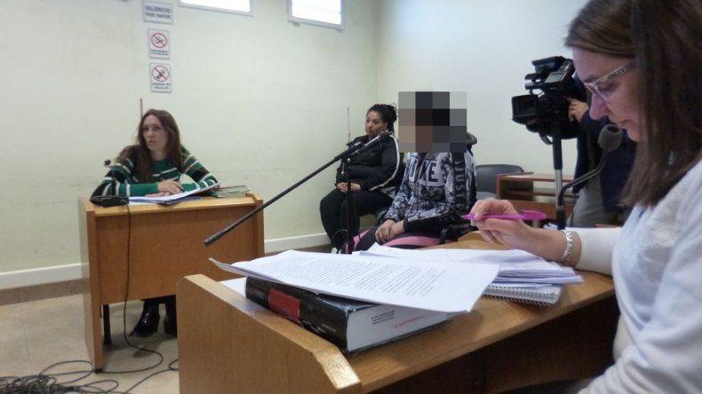 Leviñanco fue imputada por dos robos, pero no quedó detenida