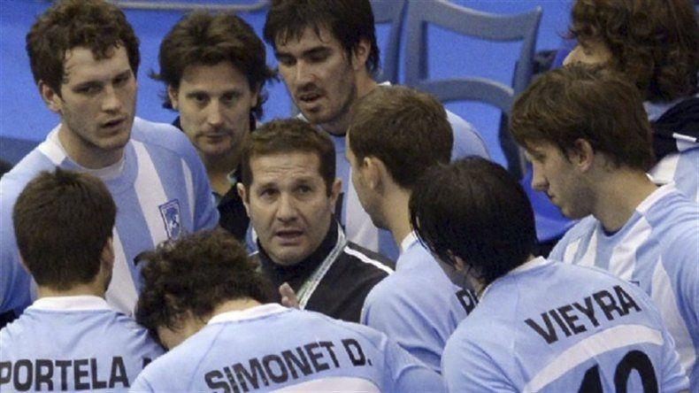 Eduardo Gallardo consiguió por primera vez la clasificación olímpica para la selección argentina de balonmano