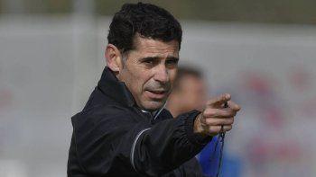 fernando hierro sera el entrenador de espana en el mundial