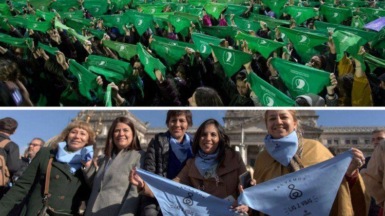 Virtual empate en la sociedad frente a ley de aborto