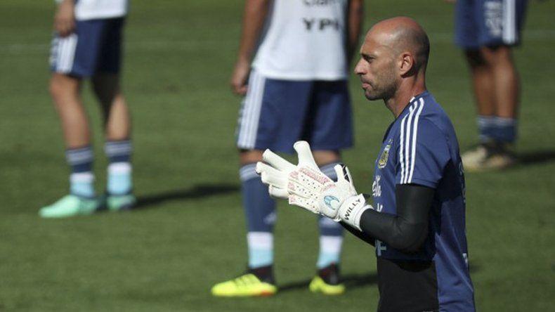 Caballero está listo para defender el arco argentino en el Mundial que arranca hoy.
