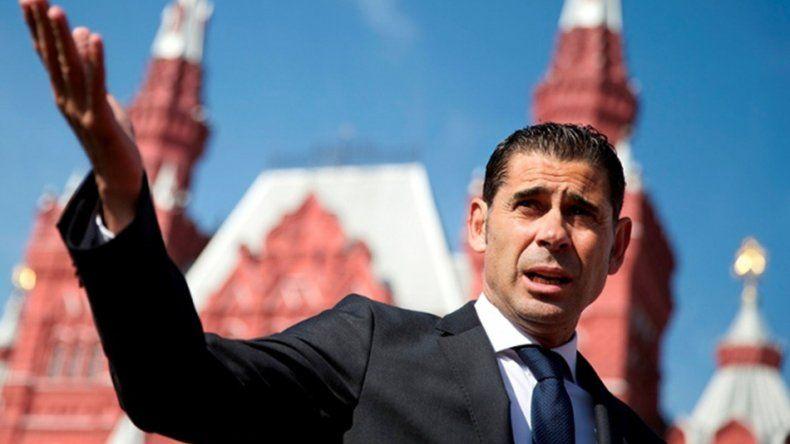 Fernando Hierro reconoció que España tiene todas las condiciones para pelear por algo que sólo pasa cada cuatro años.