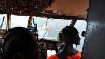 familiares de tripulante sobrevolaron el area de busqueda