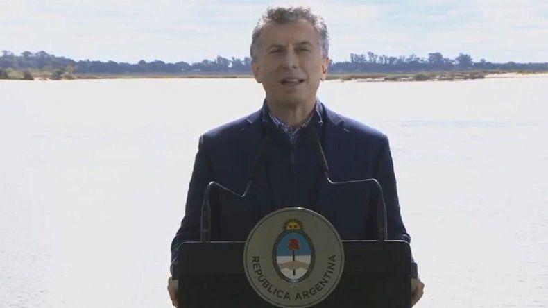 Macri felicitó a los diputados por la media sanción