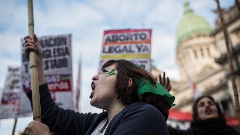 El proyecto de aborto legal tuvo media sanción