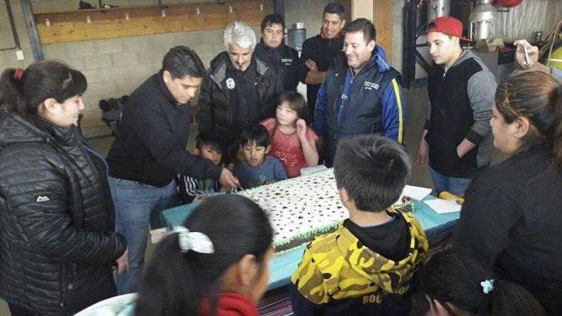 Una de las actividades desarrolladas por Petroleros Jerárquicos en Río Gallegos.