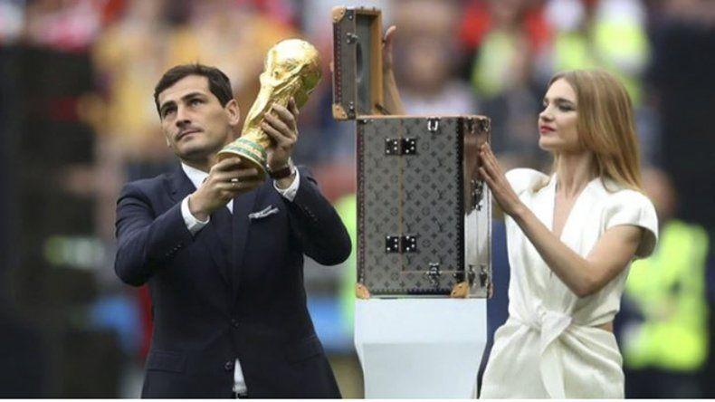 El arquero Iker Casillas