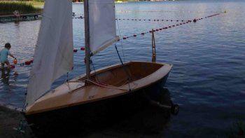 En el taller se construirá un velero Pasja 400, con similares prestaciones a un Pampero argentino.