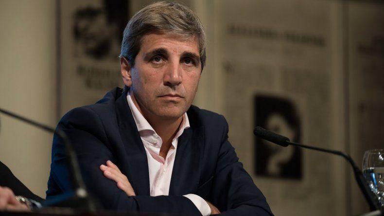 Luis Caputo asumirá al frente del Banco Central.