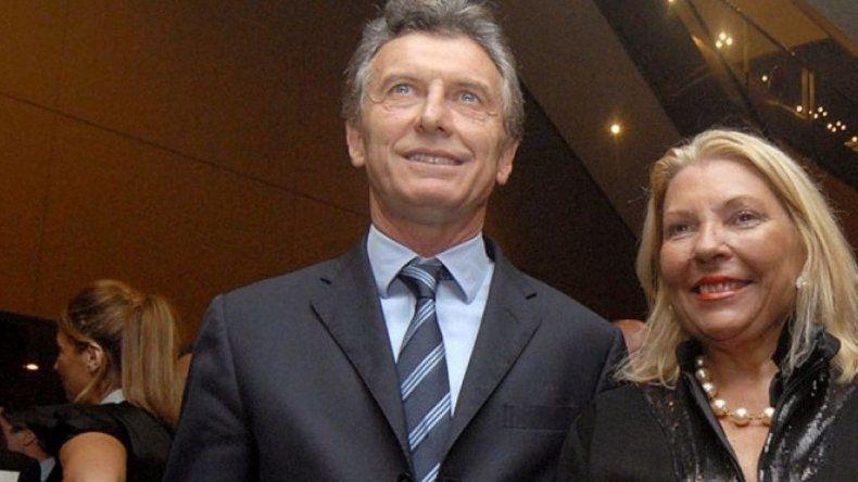 Mauricio Macri recibirá esta tarde a Elisa Carrió en Olivos