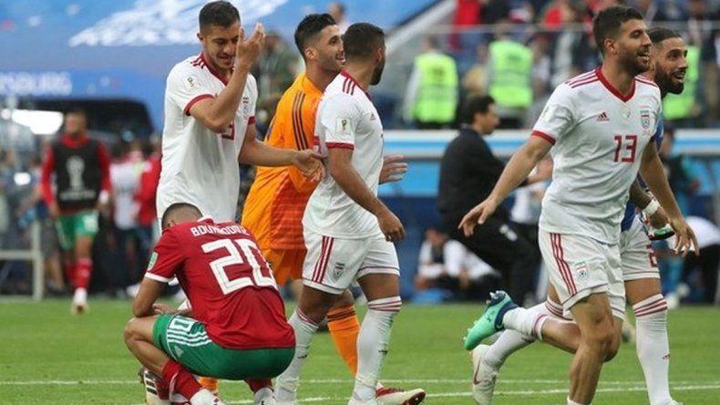 Irán ganó en tiempo adicionado
