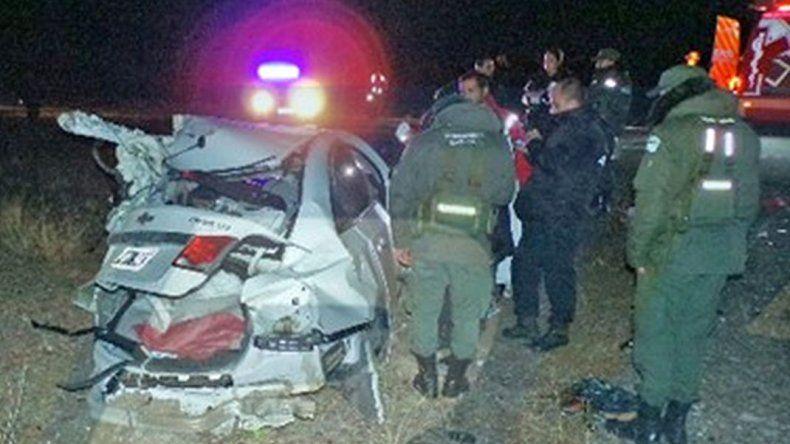 Caletense murió en un accidente en la doble trocha Madryn- Trelew