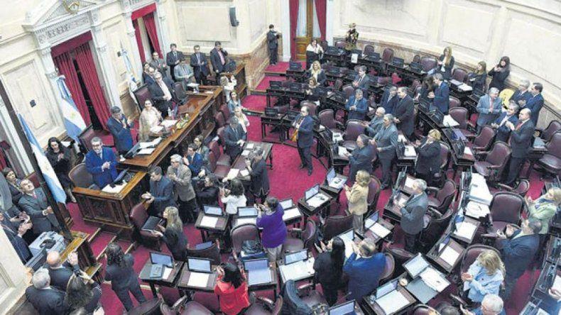 Opositores buscan dilatar el tratamiento en el Senado