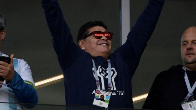 Maradona analizó las chances de la Selección argentina ante Francia