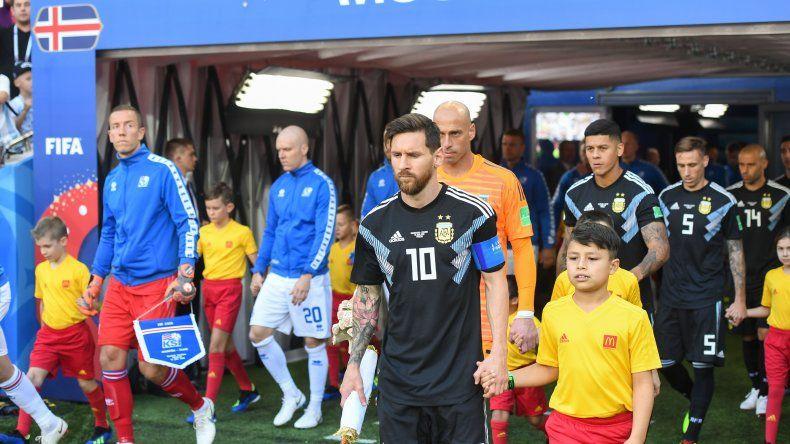 Messi jugó su peor partido en mundiales