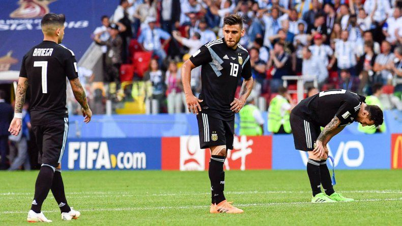 Sabor a derrota. Argentina no supo doblegar a quien, en los papeles, es el rival más débil del Grupo D.