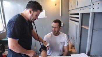 El tráiler de salud atendió a habitantes de Bella Vista Sur y los barrios aledaños