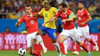Brasil no pudo con Suiza