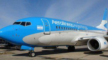 Aerolíneas vuelve a ofrecer pasajes desde $499