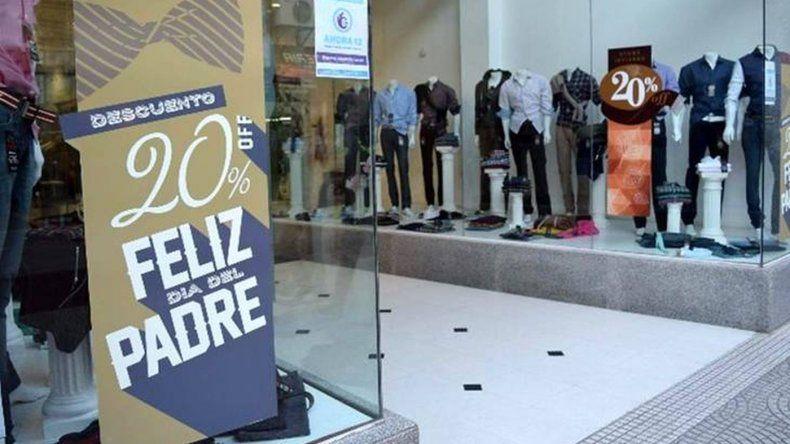 Las ventas por el Día del Padre cayeron 6,4%