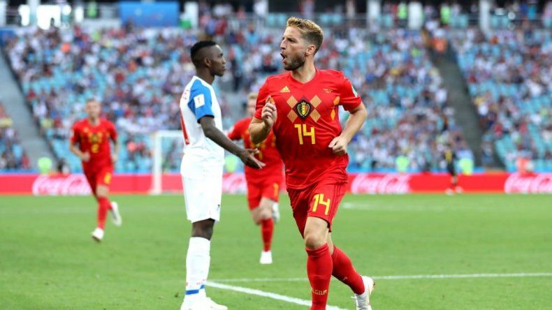Bélgica goleó a la debutante Panamá