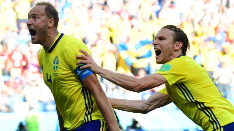 Suecia ganó 1 a 0 con el VAR como protagonista