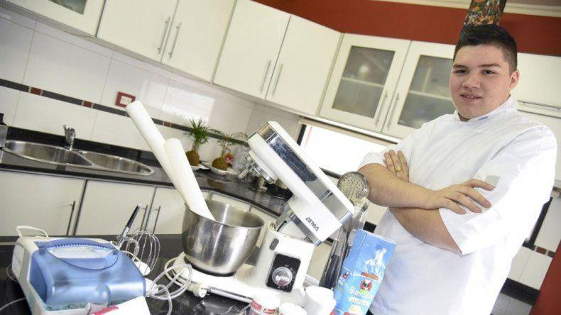 Conocé la historia de Gastón Salas, finalista de Bake Off