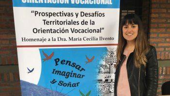 representante de la doe asistio al xix  congreso argentino de orientacion vocacional